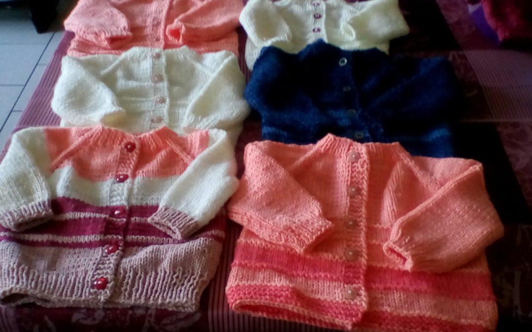 Les tricots de Françoise !
